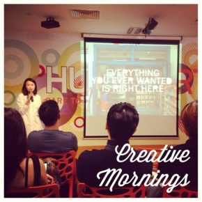 CreativeMornings Singapore (May) – Dawn Ng