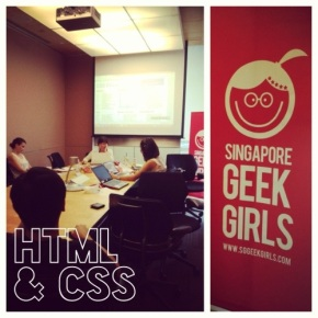 HTML and CSS workshop for beginners – Singapore Geek Girls