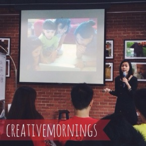 Teaching Children about Money: CreativeMornings Singapore (January) – Audrey from Playmoolah