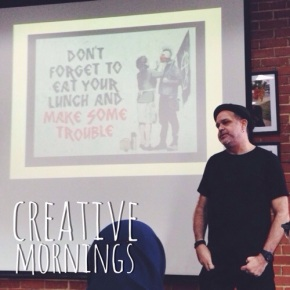 Living life as a rebel: CreativeMornings Singapore (February) – Rodd Chant