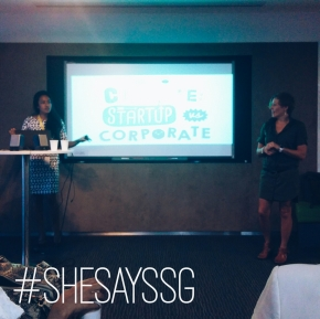 Startup vs corporate culture: #SheSaysSG with Audrey Kuah, CEO Aegis Media