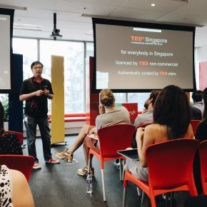 TEDx Singapore Preview in the Google office